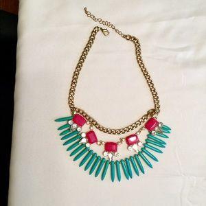 Tiered Bib Necklace